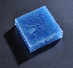 Blue jade glass