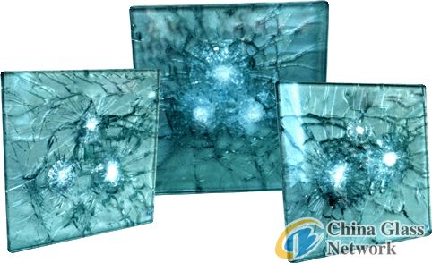 CE safety laminated bullet proof glass