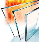90 minutes fire proof glass