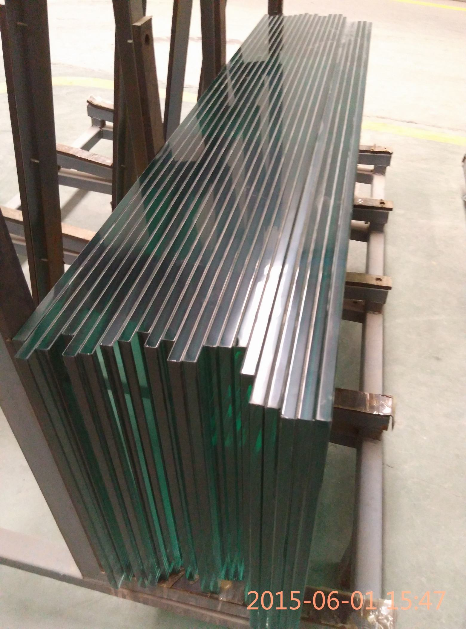 10mm fine polished tempered glass