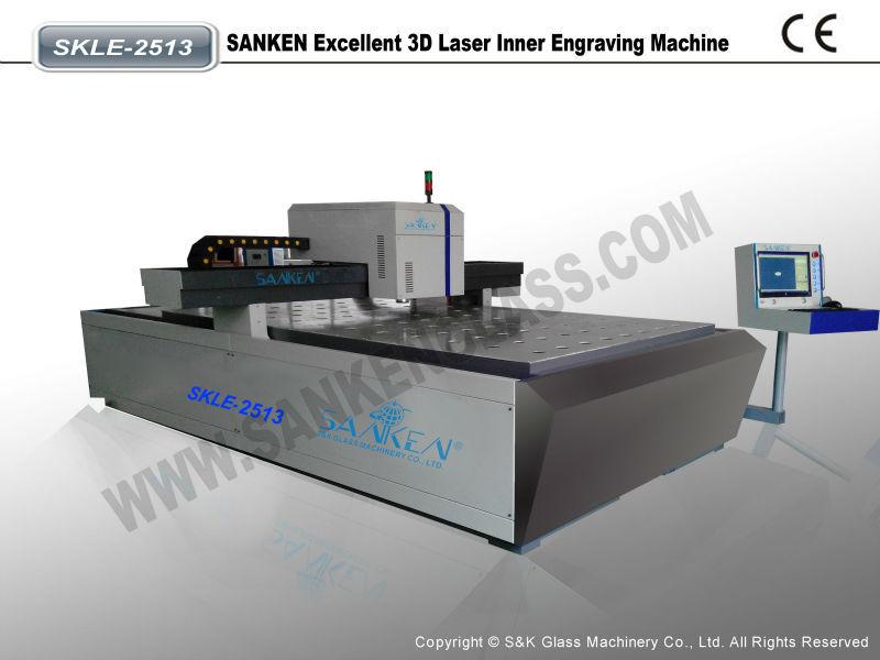 Excellent 3D Laser Inner Engraving Machine
