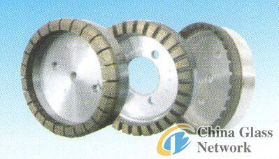 Double edging machine full-gear diamond wheel