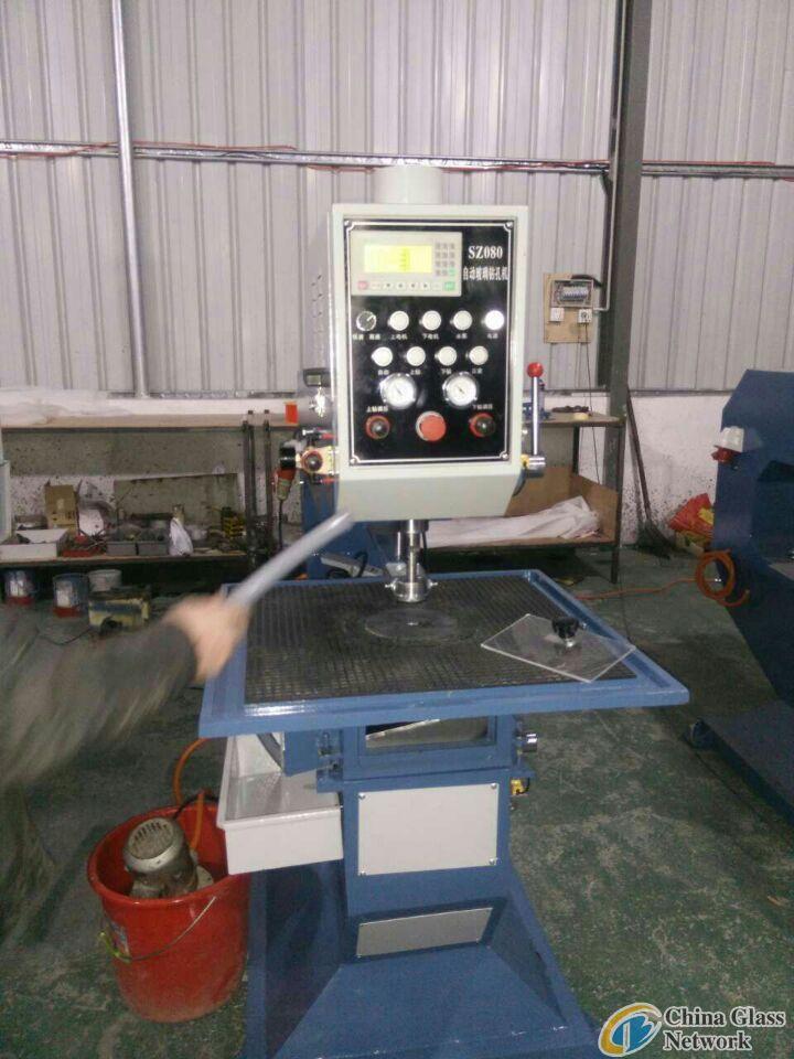 Second hand glass edging machine