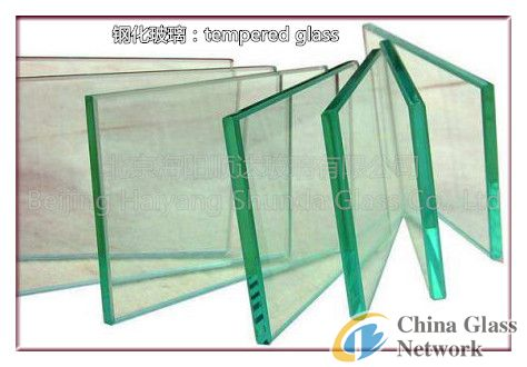 Toughened glass picture