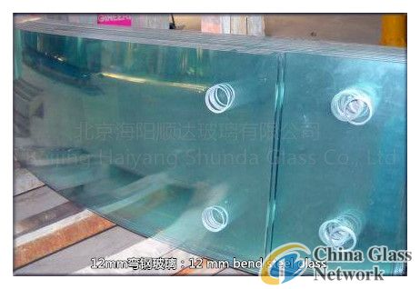 12mmCurved tempered glass