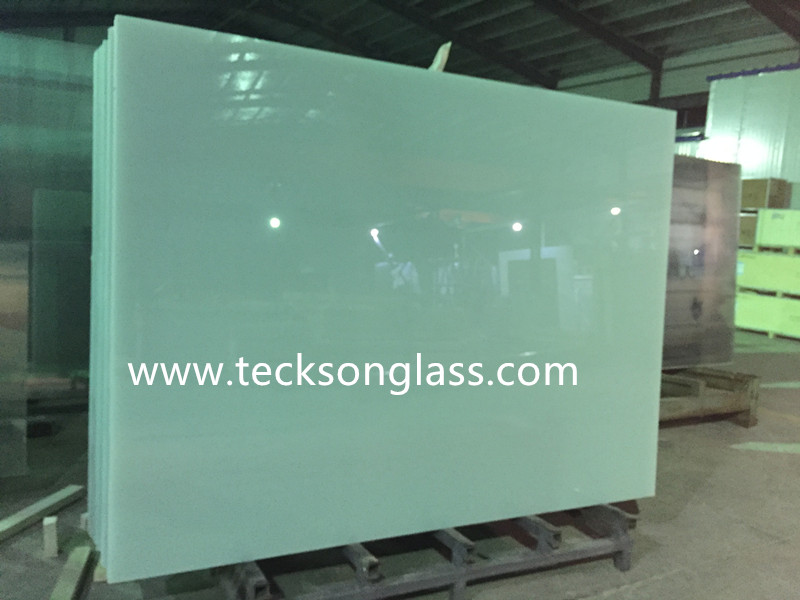 High Quality Milky White 4.38mm-12.76mm Laminated Glass