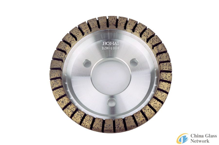 Sintered Metal Bond Full Segmented Glass Processing Diamond Wheels for Glass Grinding and Polishing