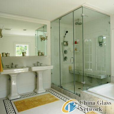 6-12mm Self-Cleaning Bathroom glass