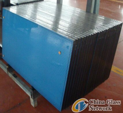 Silkscreen printing Insulated glass