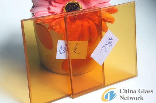 5+0.38+5mm orange laminated glass