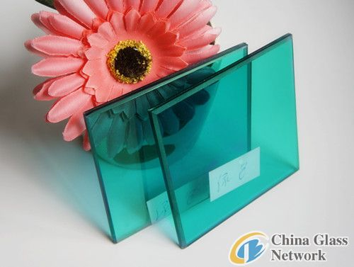 5+0.38+5mm green laminated glass