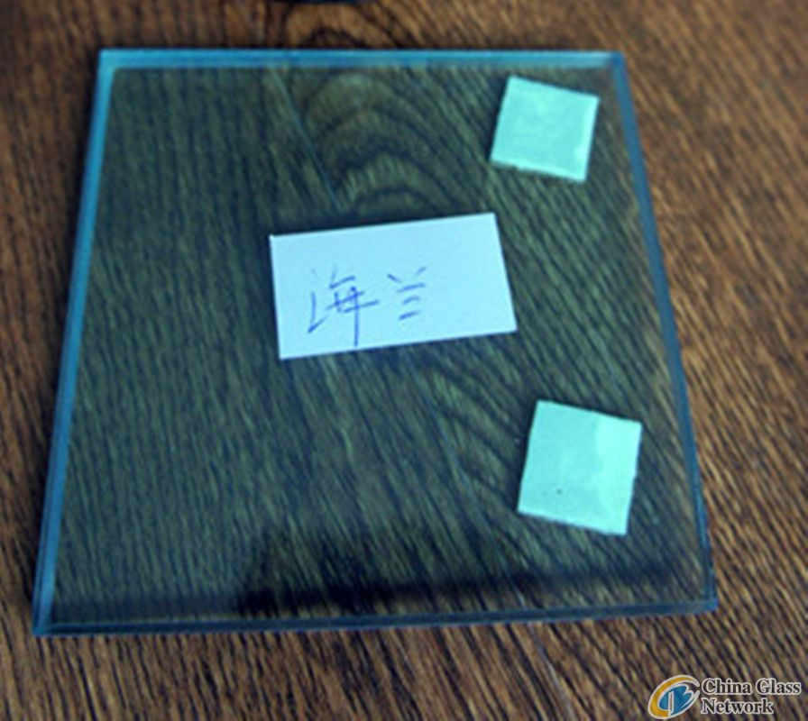 3+0.38+3mm ford blue laminated glass