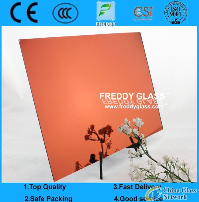red mirror/red aluminum mirror/color mirror/decorate mirror/tinted float mirror