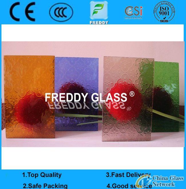 bronze flora pattern glass/grey flora patterned glass/blue flora rolled glass/amber flora figured gl