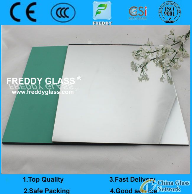 2mm aluminum mirror with doubled coated/mirror/bathroom mirrors/dressing mirror/wall mirror/cosmetic