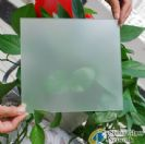 Satin-like glass frosting powder