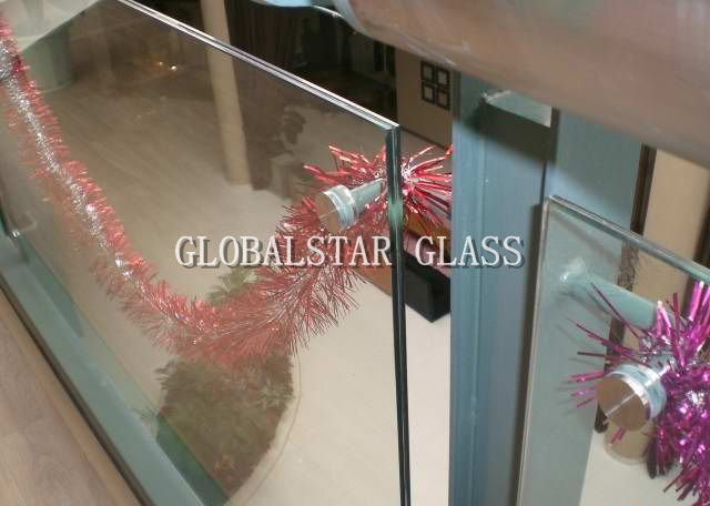 clear and colorful Laminated safety Glass 6.38mm, 8.38mm, 10.38mm, 12.38mm
