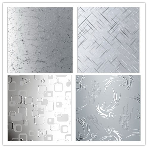 4-12mm Acid Etched Pattern Glass and Frosted Glass