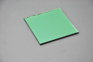 Tinted Glass silver Mirror for Decoration-green