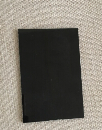 Black lacquered glass on normal clear float glass