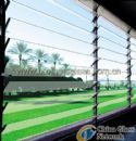 Clear Louver Frame Glass