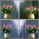 3mm to 8mm Clear Patterned Glass, Rolled Glass, Figured Glass with Certificate ISO and BV