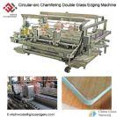 Circular-arc Chamfering Double Edger Glass Edging Machines_Glass edger_Glass Edging Machines