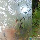 Flowers fragrance titanium glass