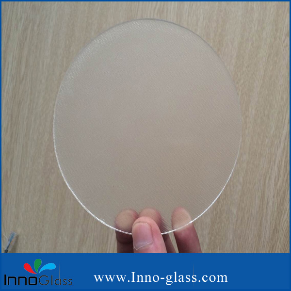3.2mm Low Iron Mislite Patterned Tempered Glass with CCC/ISO9001/CE
