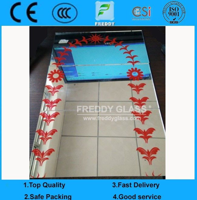 Dressing mirror/Clear sheet glass