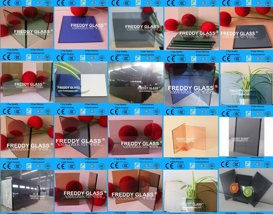 6mmTinted Float Glass/ Colored Float Glass with good quality