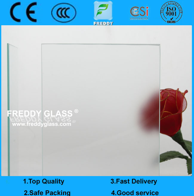 2mm Anti Glare Glass for Art Exhibiton