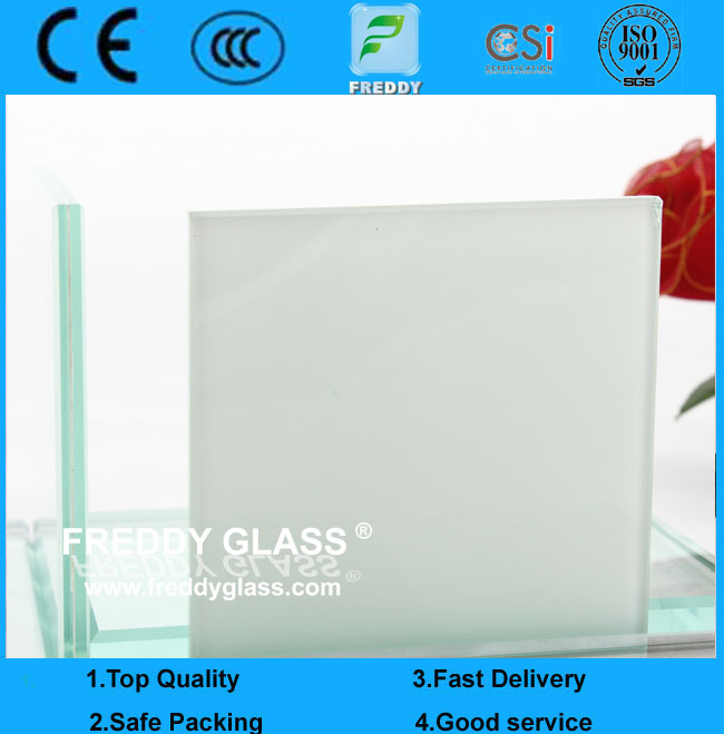 6.38 Milk Laminated Glass/ Building Glass/ Insulated Glass