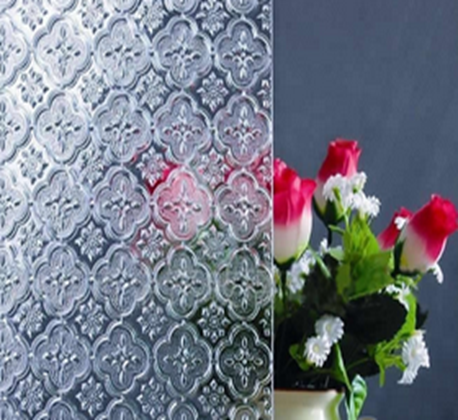 Clear Patterned Glass 3-8mm