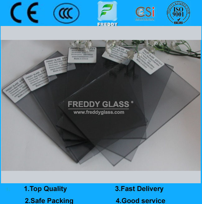 4mm Euro Grey Reflective Glass