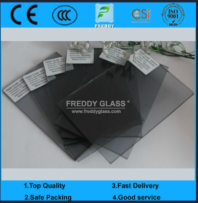 3mm-12mm Euro Grey Tinted Glass for Buildinlg