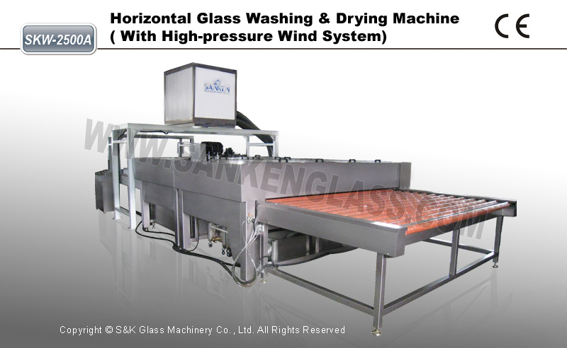 Glass washing machine guangzhou cleaning machine for sale