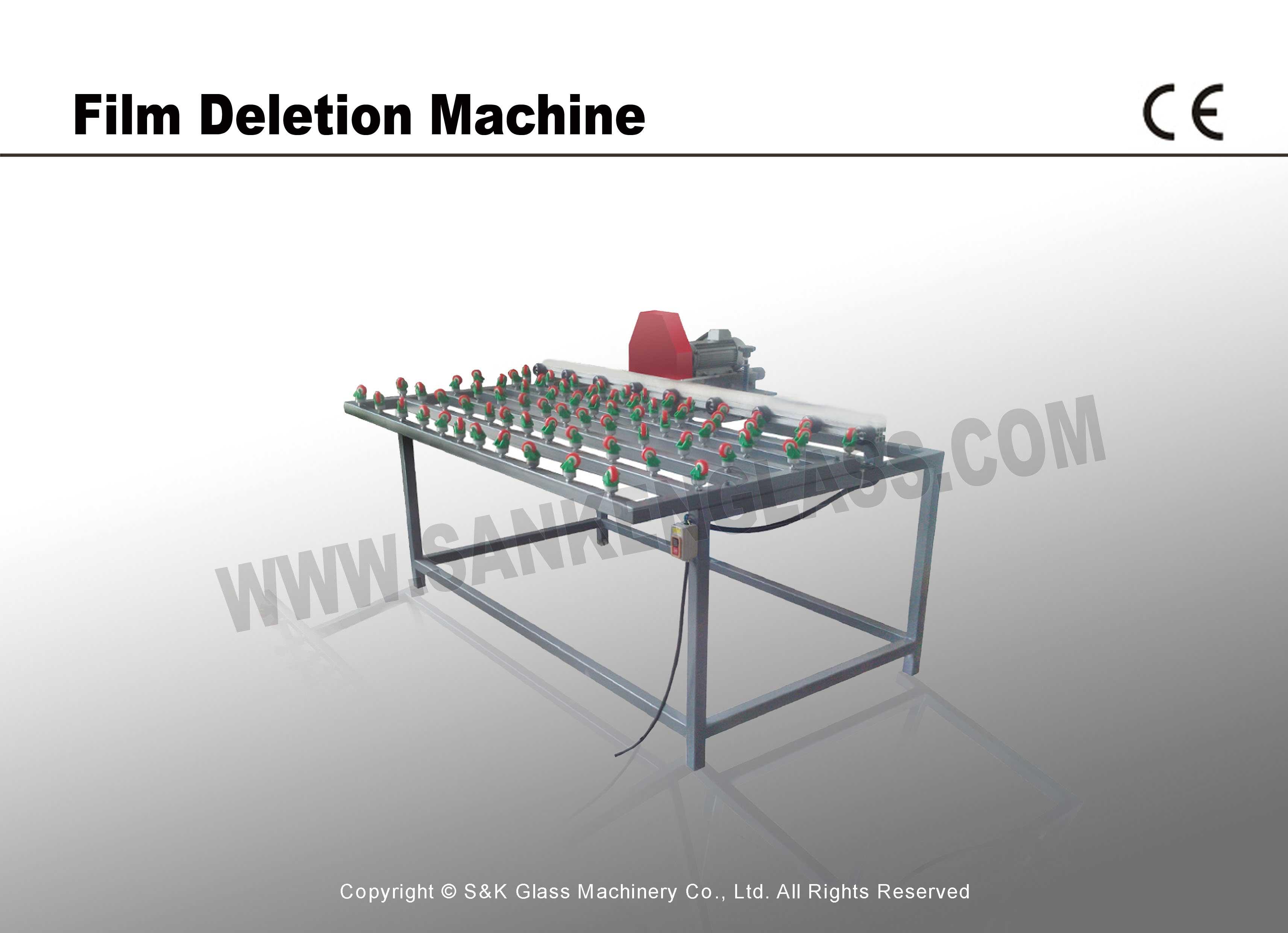 Ancillary Equipment Film Deletion Machine