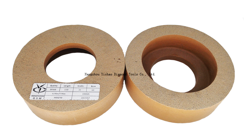 Chamfering polishing wheel