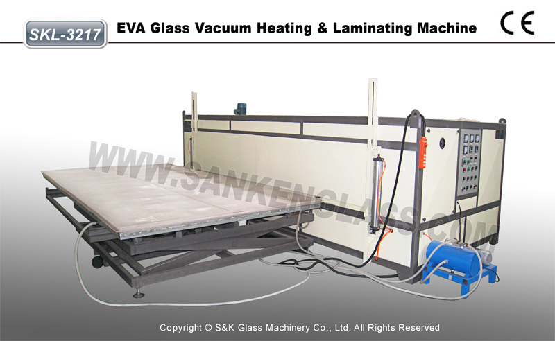 Laminating Machine EVA Glass Laminated Furnace with PLC China