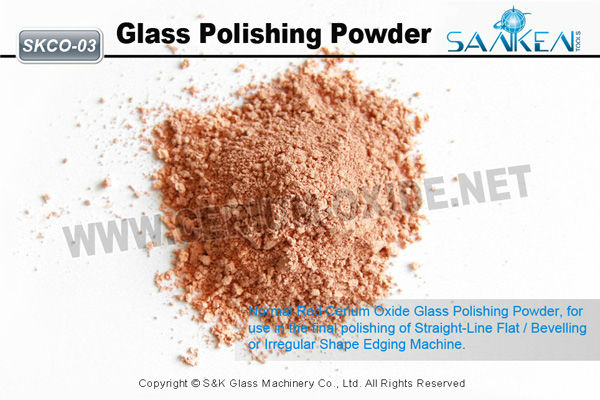 Pink Cerium Oxide Glass Polishing Powder