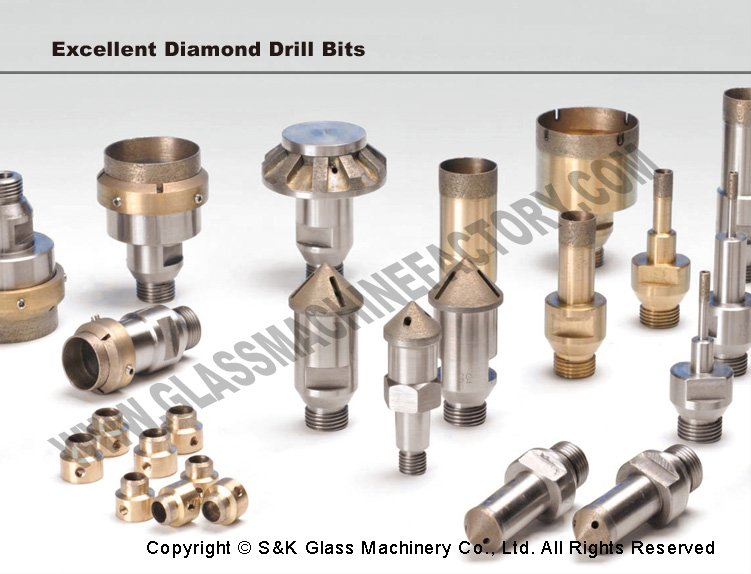 Diamond Tools Tapered Drill Bits Glass Drill Bits