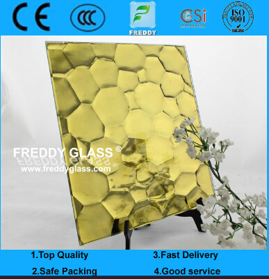 Tinted Mirror/Colored Water Cube Patterned Mirror/Pattern Mirror/Decorate Mirror/Stained Mirror
