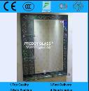 Unitized Bathroom Mirrors/Water-Proof Mirror/Furniture Mirror/Rectangle Mirror