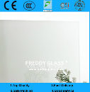 3mm 4mm 5mm 6mm White Painted/Lacquered Decorative Glass