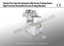 Automatic Silk Screen Printing Series-Precision Vertical Flat Silk Screen Printing Machine