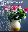 Clear Chilin Pattern Glass/Roll Glass/Rolled Glass/Stained Glass for Decoration in Top Quality
