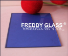 4-12mm Dark Blue Tinted Building Glass in High Quality