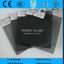 8mm Dark Grey Tempered Glass/Safety Glass/Toughened Glass