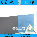 3mm-8mm CE & ISO Different Colored Paint Glass